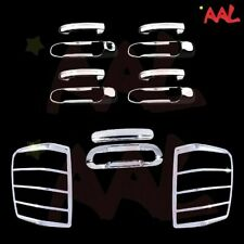 AAL FOR 99-04 Jeep Grand Cherokee Chrome Cover 4 Dr Handle NK Tailgate Taillight