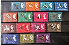 T5 - BR.SOLOMON IS.1965 COMPLETE SET OF 15 SUPERB MINT NEVER HINGED ON S/C
