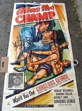 Alias the champ Robert Rockwell movie poster print