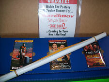 The Waterboy Dusk To Dawn 2 Simon Birch PROMO Only VHS Tapes Posters + Paperwork