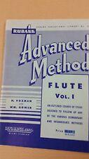 Flûte advanced méthode pour flûte, h. Voxman + wm gower