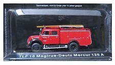 MOULÉ SOUS PRESSION «TLF 16 MARGIRUS-DEUTZ MERCUR 125» POMPIERS DU FEU FIRE