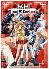 Ikki Tousen: Dragon Destiny Complete Collection (Ova Episodes 1-6) 3 DVD