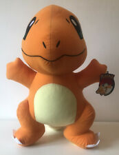 "Pokémon Charmander Orange Large 21"" Plush Soft Stuffed Doll Toy With Tags (2017)"