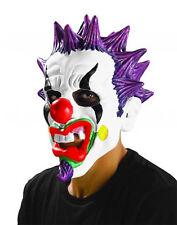 SICKO Evil Punk Clown 3/4 Child MASK rm5012