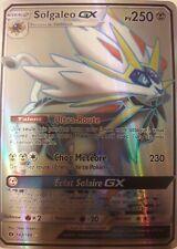 Solgaleo GX 143/149 SL1 Full art Carte Pokemon neuve version français