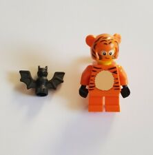 Lego City Halloween Cute Tiger Costume Minifigure with Bat New