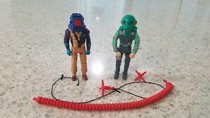 M.A.S.K. Venom Outlaw Nash Miles Power Cable Hooks Vintage Kenner 1986