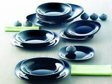 Luminarc servizio piatti per 12 persone 36 pezzi  modello Carine  nero