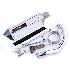 GY6 125 150cc modified akrapovic yoshimura exhaust fit 157mj 152qmi 4 Stroke