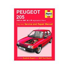 Peugeot 205 Haynes Car Manuals and Literature