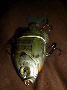 Bream Slide Jointed Lipless Floating Lure Gill Bass fishing swimbait Hard Bait