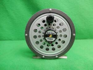 South Bend 1122A Fly Fishing Reel - Black Tested Working