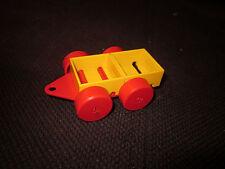 Fischertechnik Modell Auto-Anhänger für Kinder Racing Spielen Eigenbau gelb Top