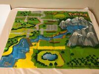 Pokemon World of Pokemon Jakks Pacific Playmat Mat Playset Plastic Used Folded B