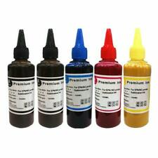5 x 100ml Sublim Dye Sub sublimazione Sharp Inchiostro Set 4 colori per stampanti Epson