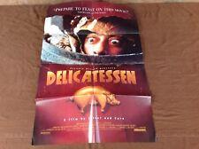 1991 Delicatessen Original Movie House Full Sheet Poster