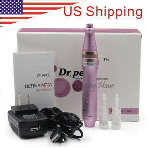 Rechargeable Electric ULTIMA M7-W Dr. Pen Micro Needle Anti-Aging Derma Pen