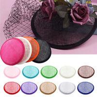 Fashion Women's Hat Base Round Shape Hat Material Craft Making DIY Supplies