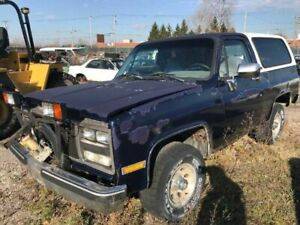 Front Bumper Chrome Fits 83-91 BLAZER/JIMMY (full size) 80594
