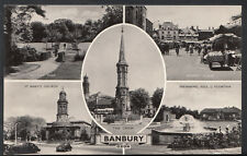 Oxfordshire Postcard - Views of Banbury  RT28