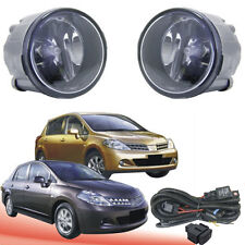 Front Fog  Lamp /Light For Nissan TIIDA 2009-2010 On /1Pair Light+Wire+Switch
