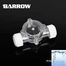 """Barrow G1 / 4 """"FILETTATURA Bianco Indicatore Flusso Contatore Dell' acqua di raffreddamento"""