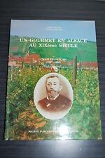 Un gourmet en Alsace au XIXème siècle : Charles Ortlieb