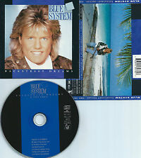 BLUE SYSTEM-BACKSTREET DREAMS-1993-GERMANY-HANSA RECORDS 74321 13473 2-CD-MINT-