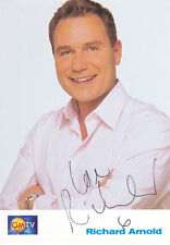 GMTV RICHARD ARNOLD Signed TV Cast Card