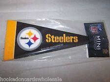 Pittsburgh Steelers Mini Pennant - 8 Piece Set NFL Brand New