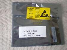 MEM2811-512D 512MB DRAM MEMORY mit ECC für CISCO 2800 2811