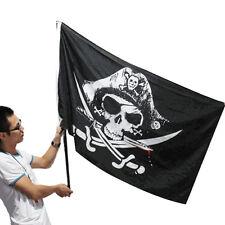 90X150 cm Bandera del Partido del pirata los sabres cruzado Bandera del cráneo