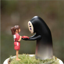 2pcs Spirited Away Chihiro No Face Man Faceless Figure Figurine Toy Home Decor
