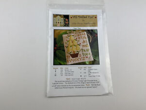 Little House Needleworks all dolled upCross Stitch Pattern pear tree sampler