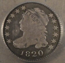 1820 Capped Bust Dime ANACS G6