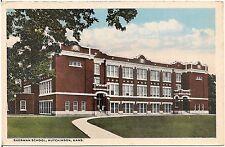 Sherman School in Hutchinson KS Postcard