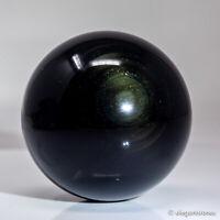 282g 61mm Natural Rainbow Obsidian Quartz Crystal Sphere Healing Ball Chakra