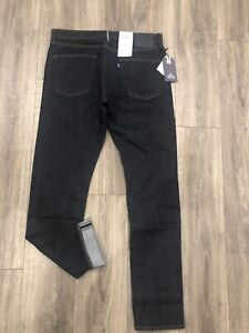 New LEVI'S MADE & CRAFTED 511 Slim Fit Jeans Blue Made In Japan Selvedge 36 X 34
