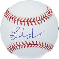 Brandon Nimmo New York Mets Autographed Baseball Fanatics Authentic Certified