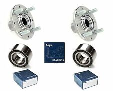 1992-2000 HONDA Civic Front Wheel Hub & (OEM) KOYO Bearing Kit (DX, CX, HX)-PAIR
