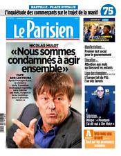 Le PARISIEN (75) n° 22712 du 12/9/2017*MACRON & manifs*HULOT condamnés agir TOUS