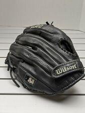 """Wilson AO500BB11XX Black Youth 11.5"""" Baseball Glove A500 - Right Handed EUC"""
