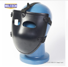 Bulletproof Helmet Face Shield Tactical Swat Military Riot Plate Entry Mask NJI