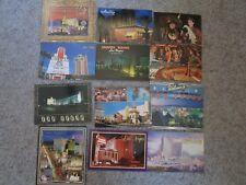 Vintage Lot of 12 Las Vegas Postcards Unused Sands MGM Sahara Aladdin Monte Ca