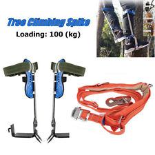 Enhanced Edition Tree Climbing Tool Pole Climbing Spikes Hook Climbing Tree Shoe
