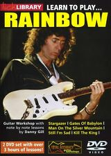 Lick Library LEARN TO PLAY Ritchie Blackmore's RAINBOW With Danny Gill VIDEO DVD