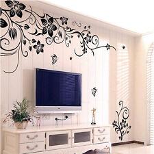 Hee Grand rimovibile vinile Wall Sticker adesivi murali Art - fiori e della vite