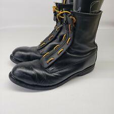 ANSI Z41-1994 Vintage Military Combat Boots; Black Size 11.5 R