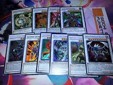 LOTTO 10 CARTE MOSTRO SYNCHRO in italiano ed inglese ORIGINALI YU-GI-OH!